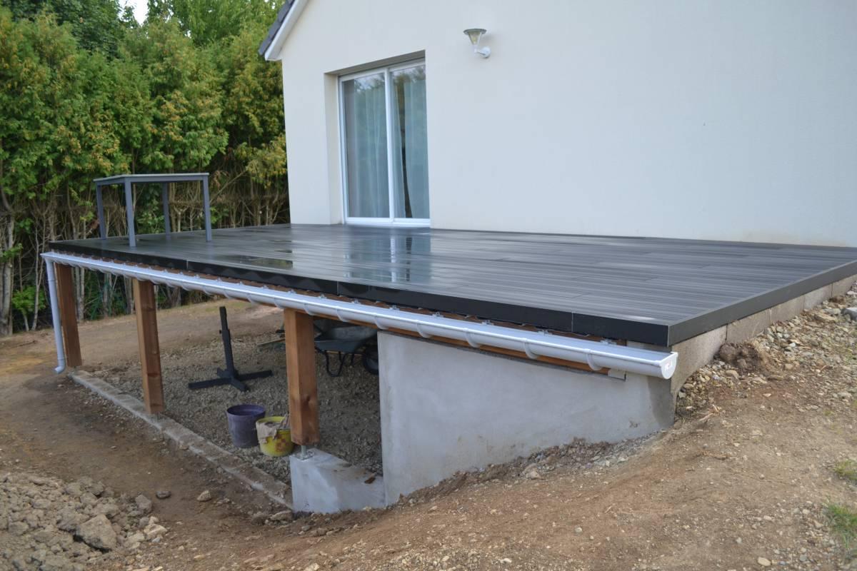 Terrasse Composite Escalier Mailleraye Fr Jardin