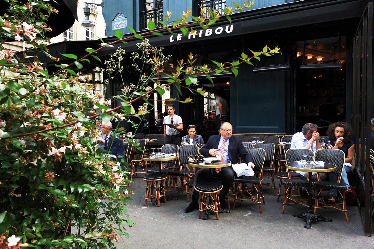 Restaurant terrasse paris odeon