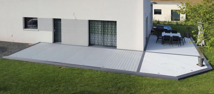 Terrasse composite kit