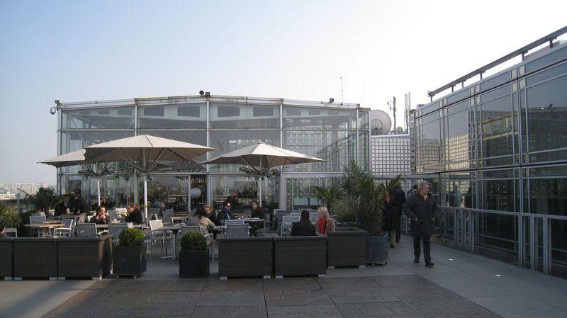 Bar terrasse institut du monde arabe