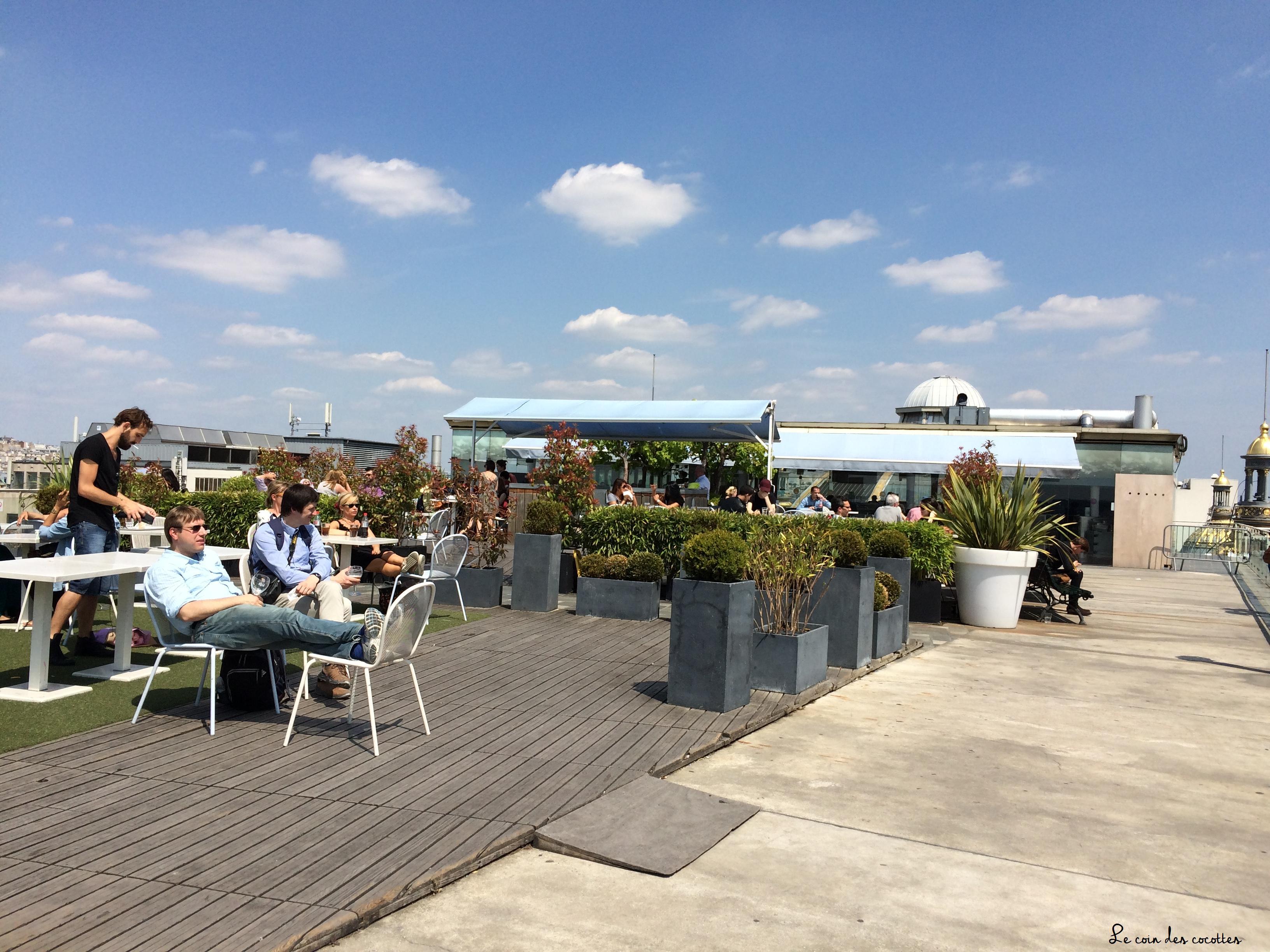 Terrasse bar panoramique paris