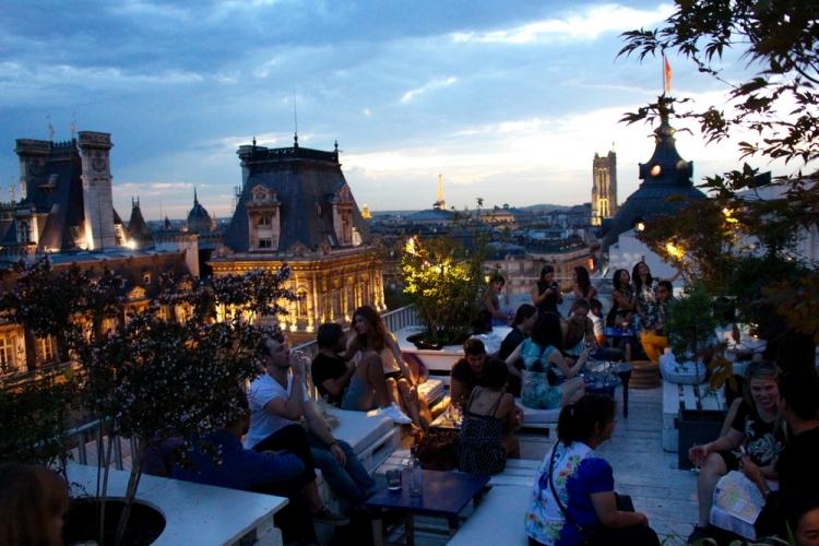 Terrasse paris hotel de ville