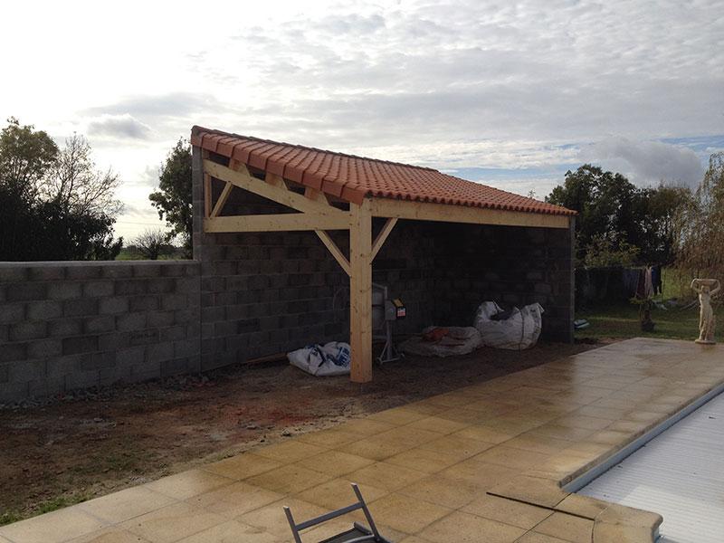 Terrasse couverte declaration prealable