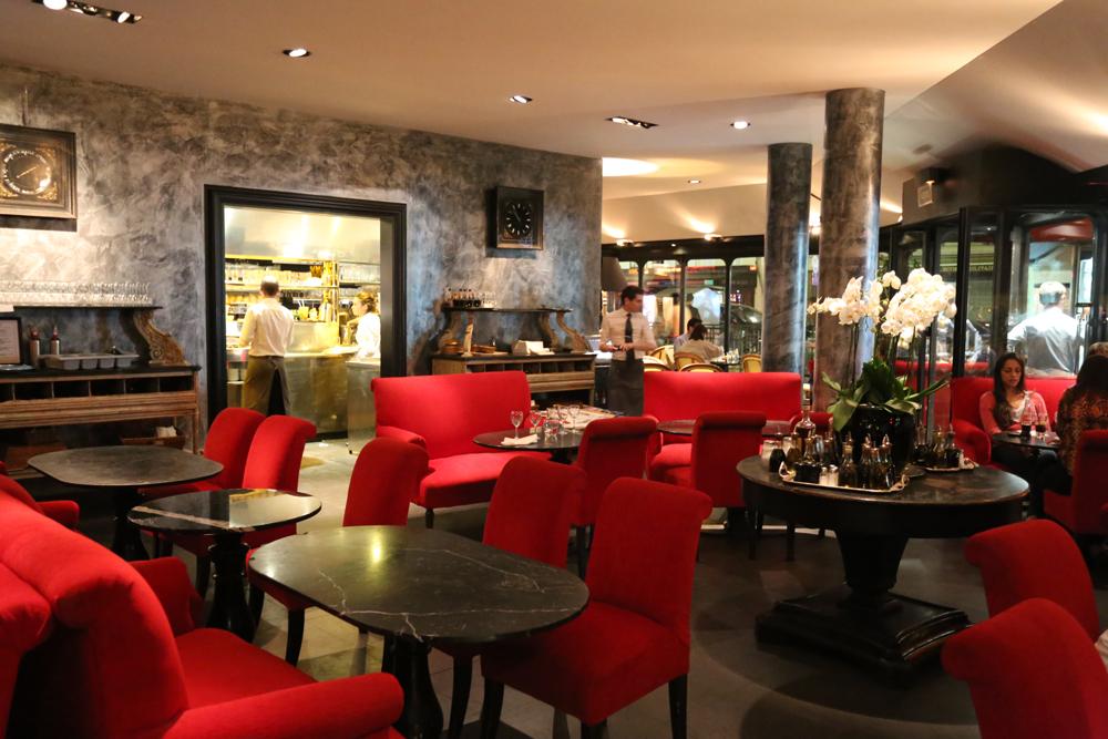 Terrasse restaurant paris 7