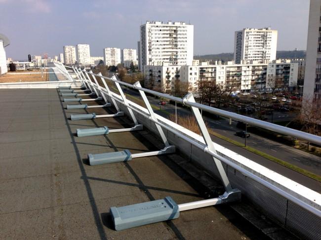 Barriere terrasse amovible