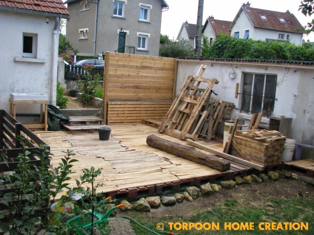 Fabriquer terrasse avec palette