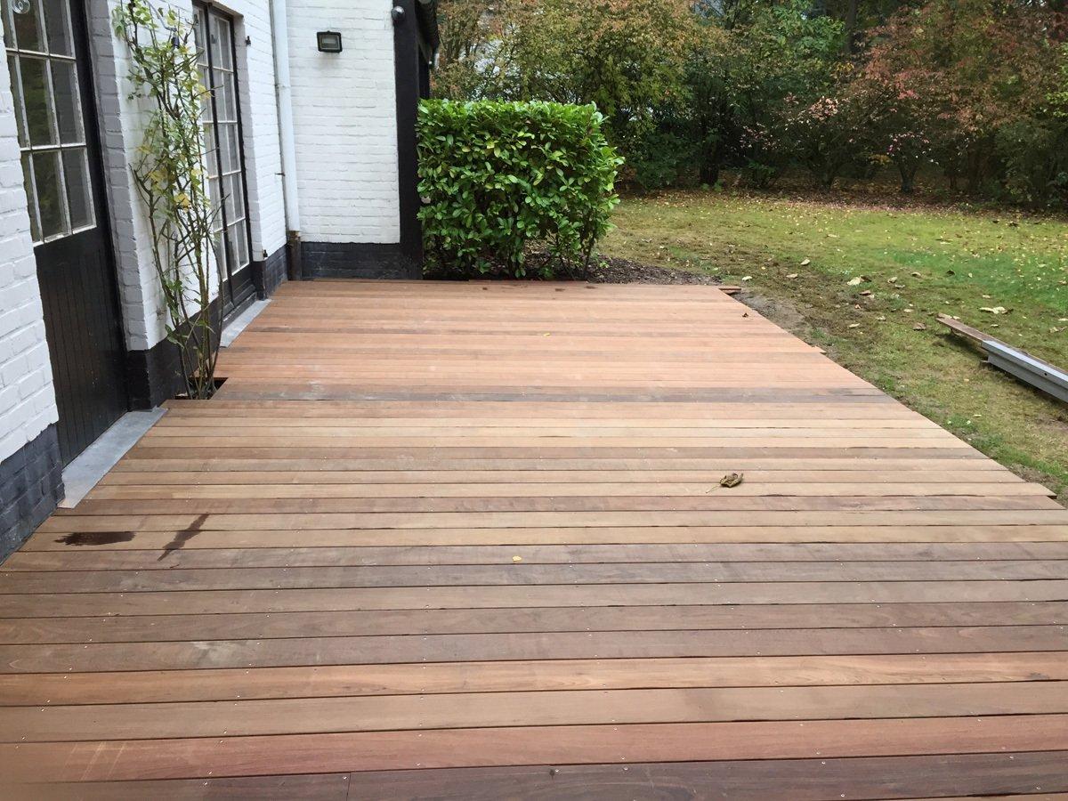 Terrasse en bois brabant wallon