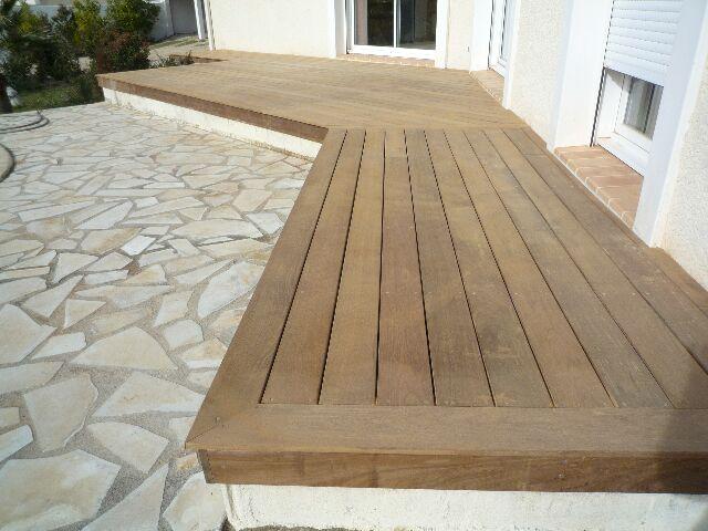 Une terrasse en bois
