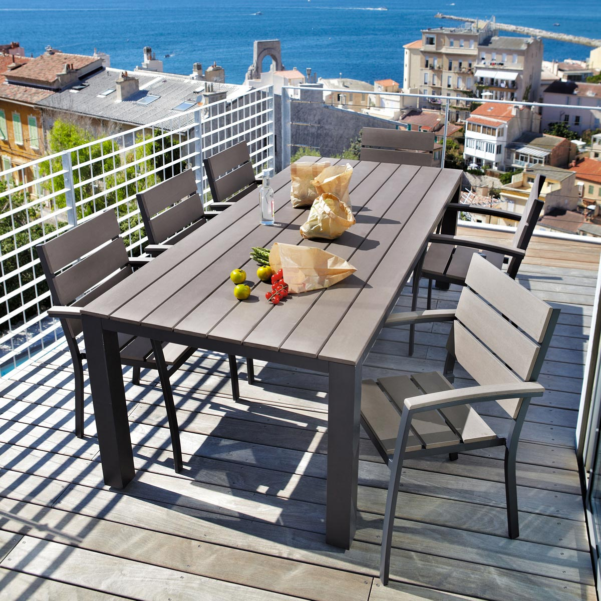 Table de salon de jardin maison du monde - Mailleraye.fr jardin