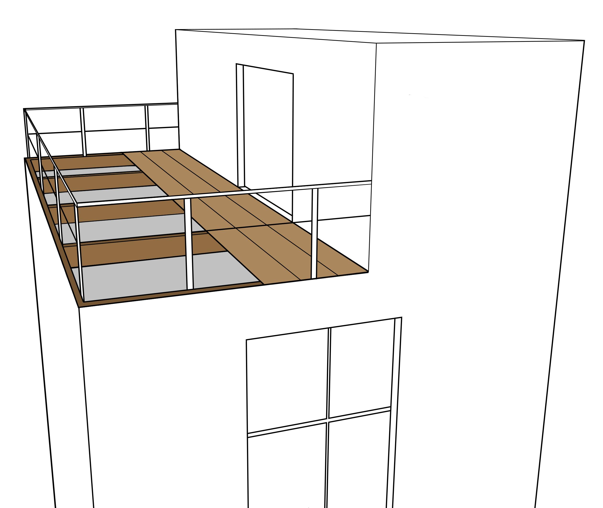 Monter une terrasse en bois sur pilotis
