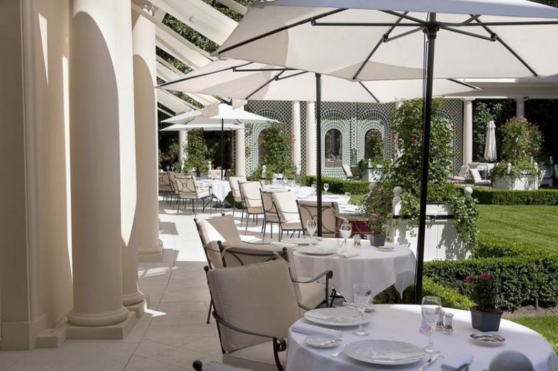 Restaurant terrasse paris michelin