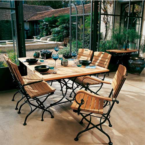 Fer Salon Teck Jardin Emejing Forge Pictures Design House De mnwN0v8