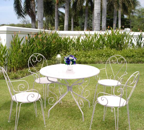 Table de salon de jardin fermob - Mailleraye.fr jardin