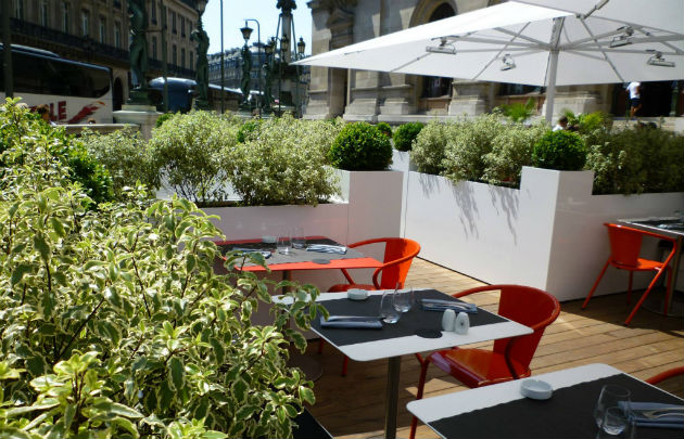 Restaurant terrasse haut de gamme paris