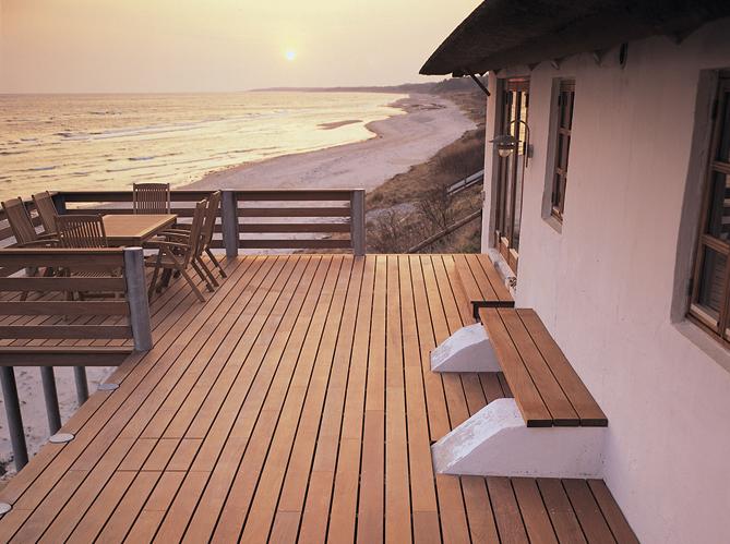 Une terrasse en bois est elle imposable