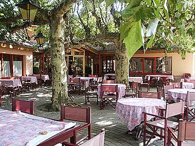 Restaurant terrasse chatillon sur chalaronne