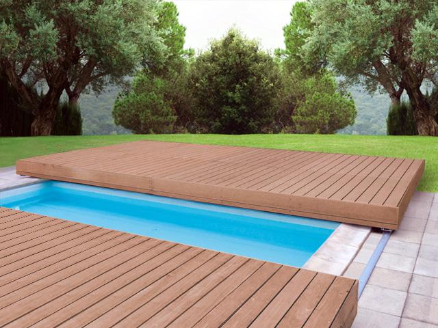 Terrasse composite moderne