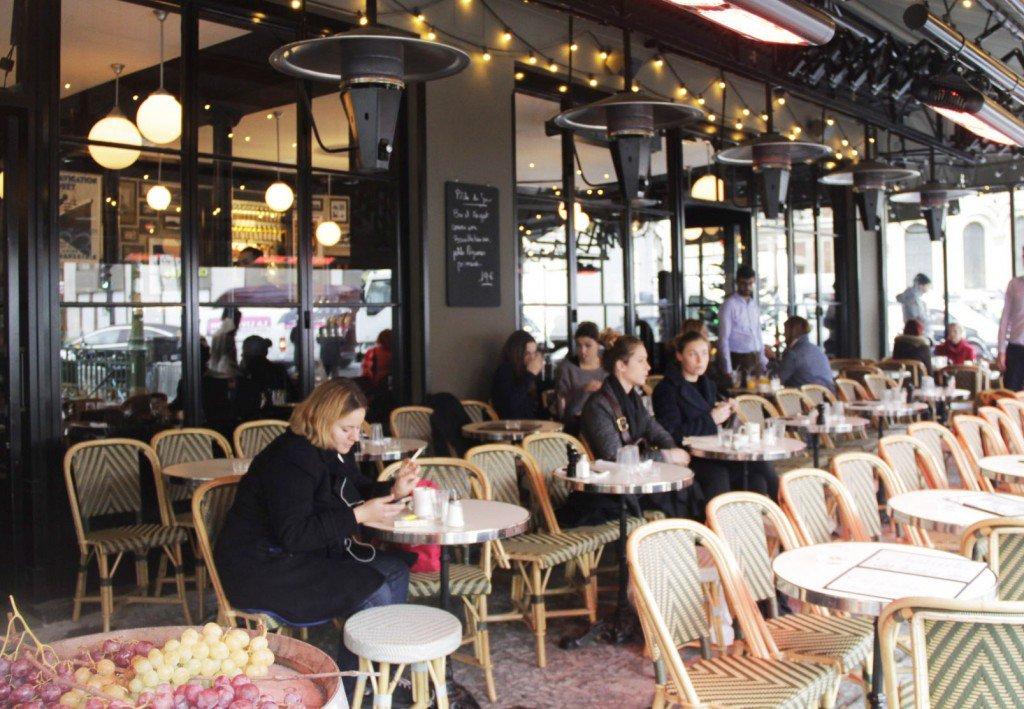 Restaurant terrasse arts et metiers