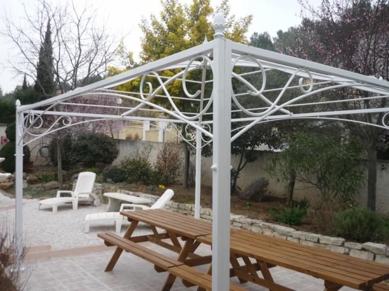 Terrasse de jardin en bois composite