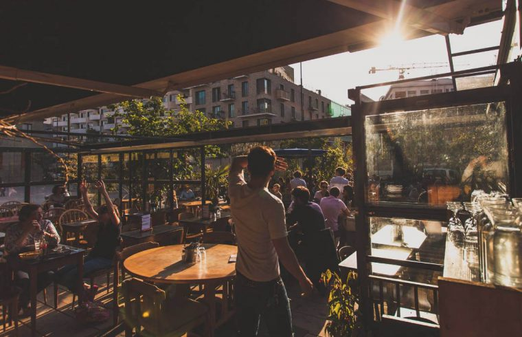 Terrasse bar paris 2018