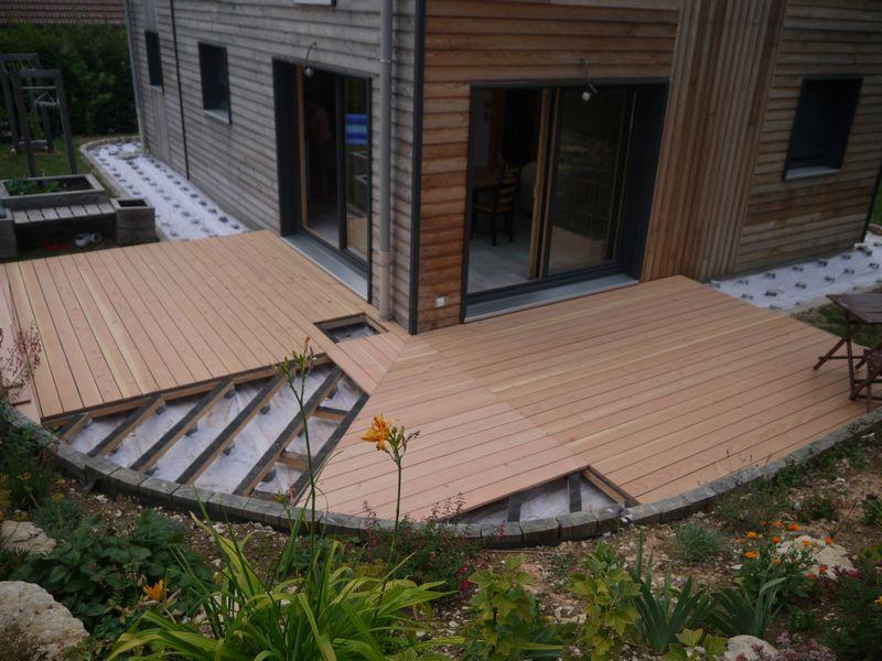 Terrasse Avec Arrondi Maillerayefr Jardin