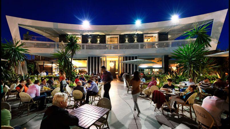 Terrasse café restaurant casablanca