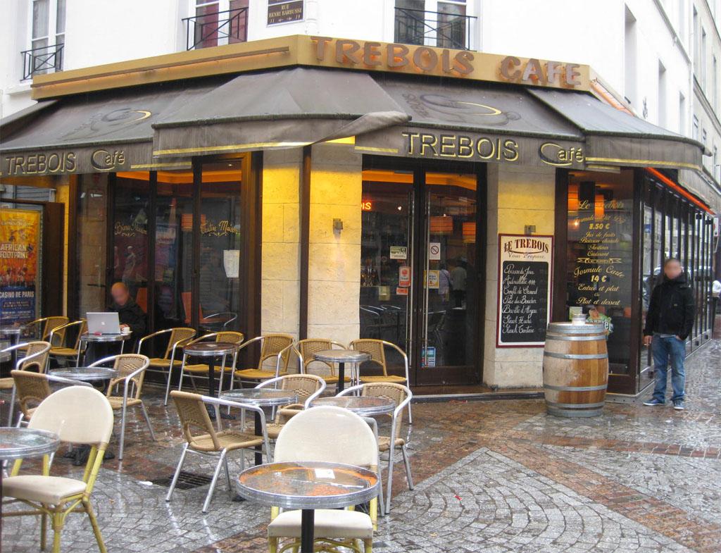 Café terrasse levallois