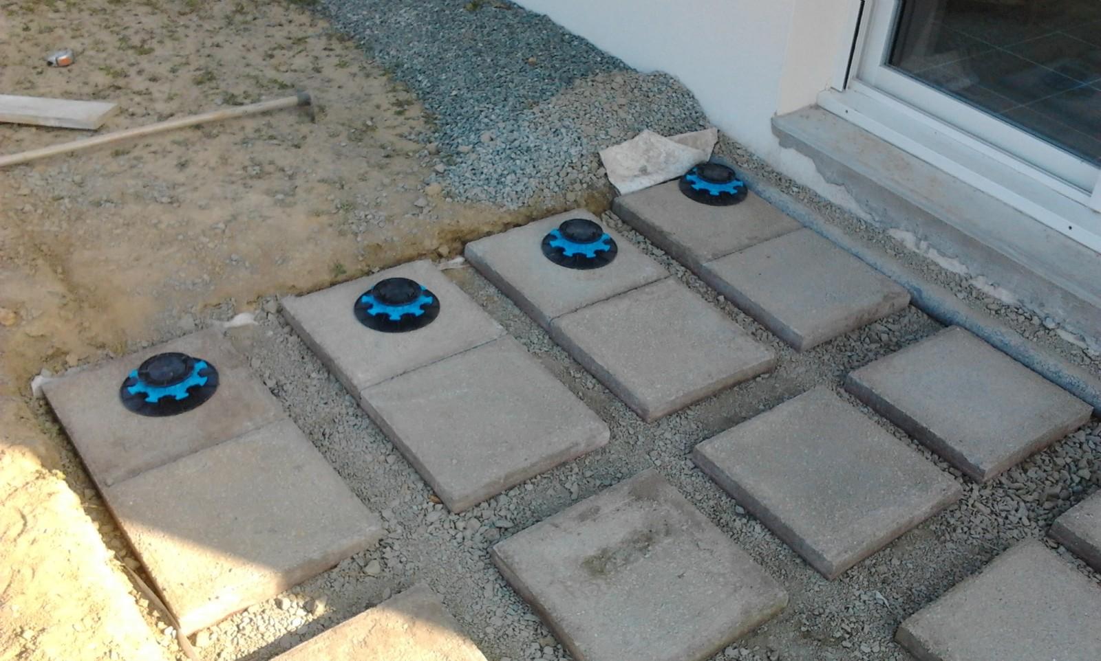 Terrasse plot beton ou pvc