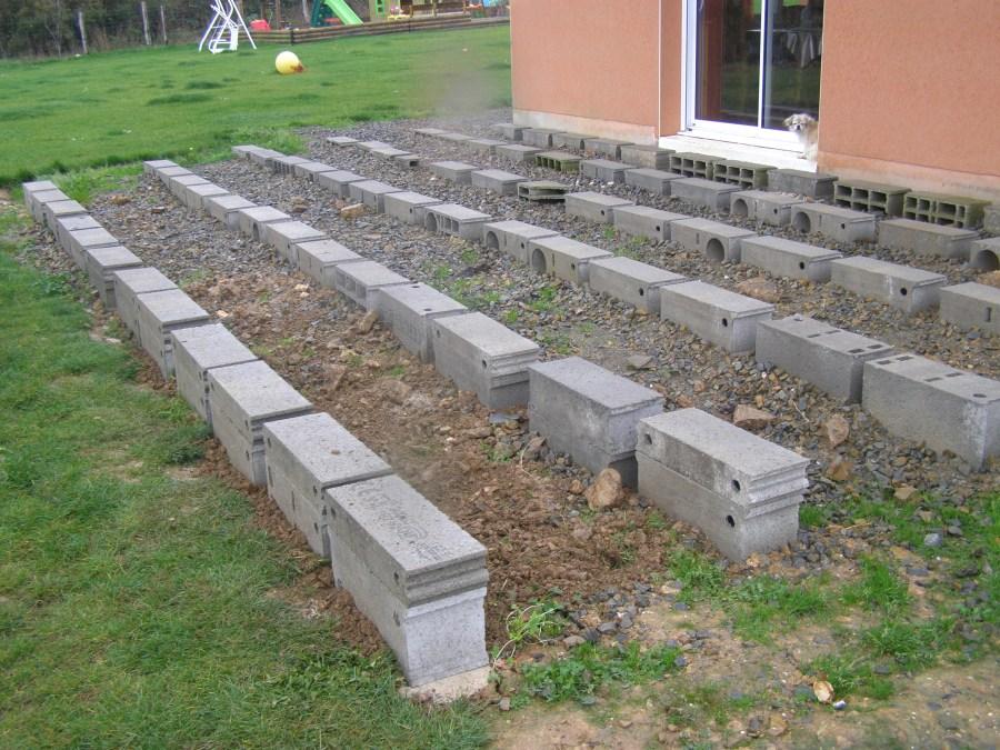 Plot beton terrasse bois