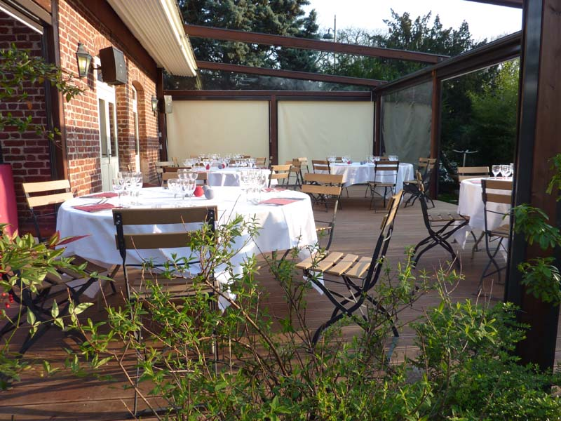 Terrasse jardin acclimatation