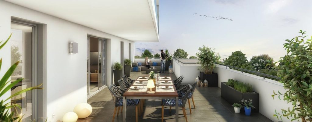 Appartement terrasse hyper centre toulouse