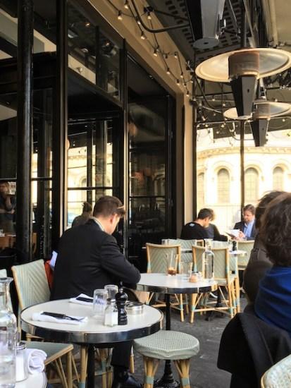 Restaurant terrasse arts et métiers