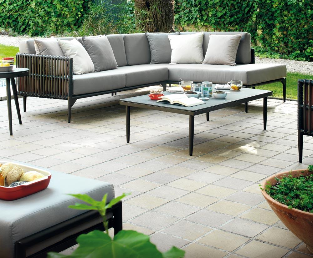 Salon de jardin modulable aluminium - Mailleraye.fr jardin