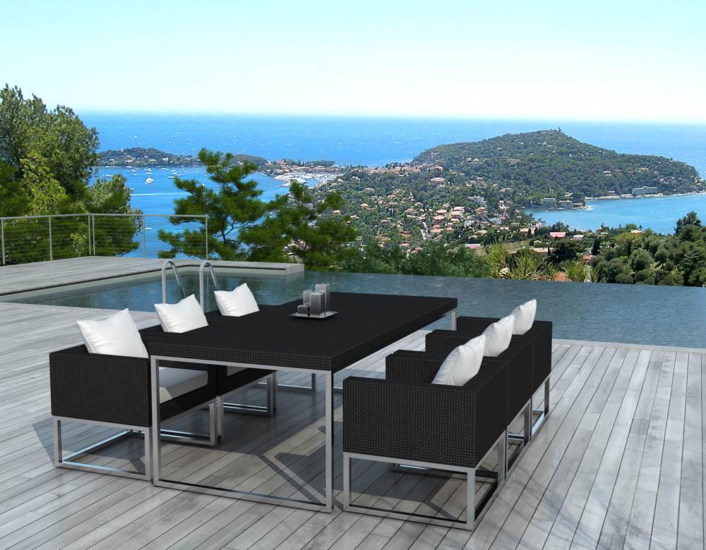 Table salon de jardin exterieur - Mailleraye.fr jardin