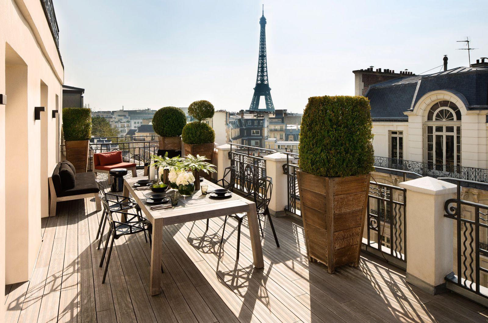 Terrass'' hotel paris frankreich