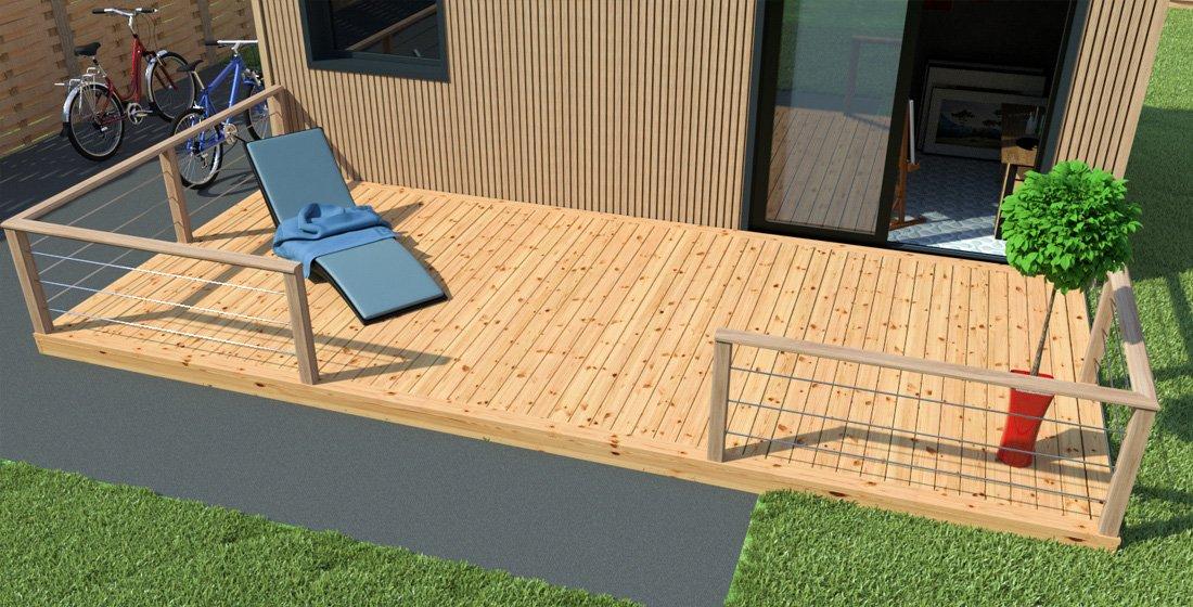Terrasse bois meilleur rapport qualite prix