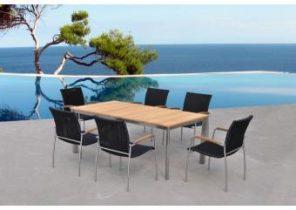 Salon de jardin table ronde leclerc - Mailleraye.fr jardin