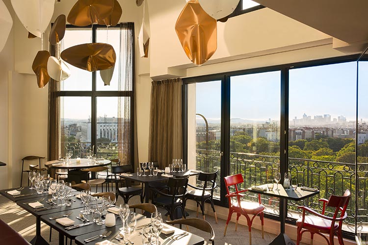 Terrass hotel paris english jardin - Hotel chambre avec terrasse paris ...