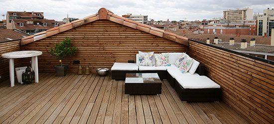 Appartement terrasse toulouse centre