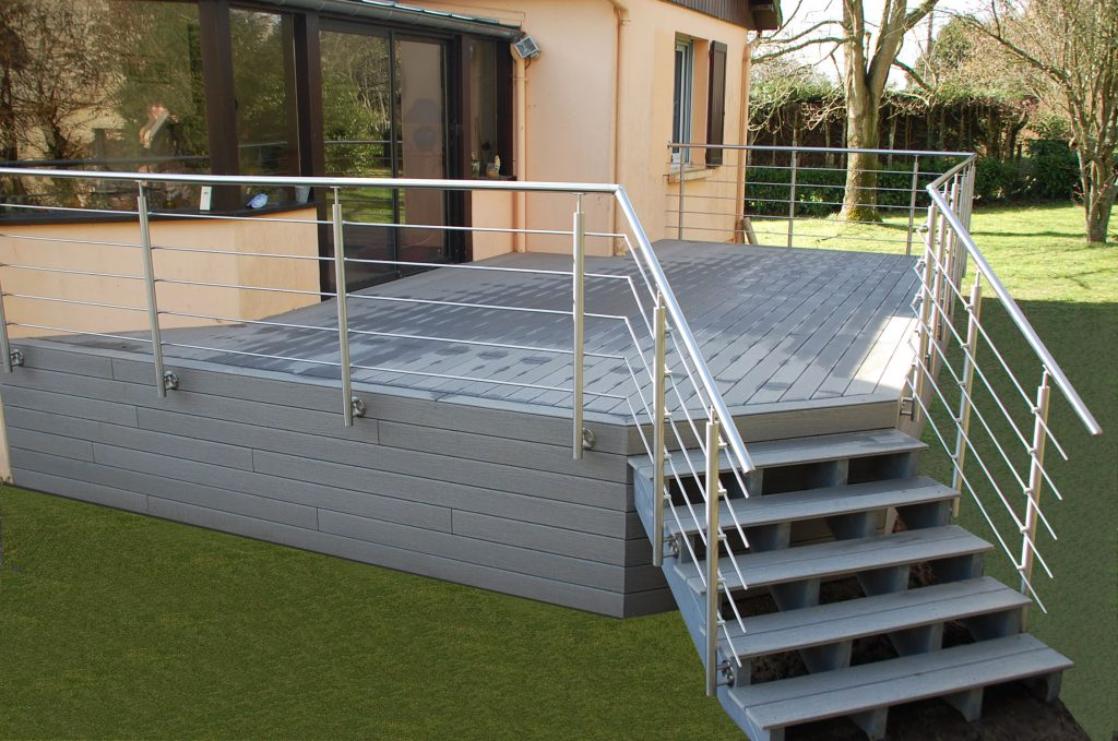 Prix création terrasse composite
