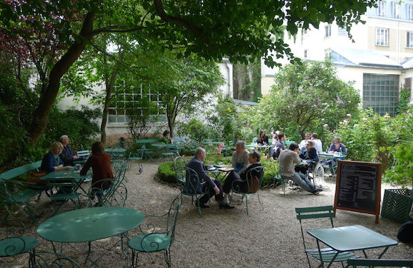 Restaurant terrasse cachée paris