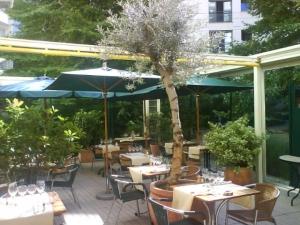 Café terrasse courbevoie