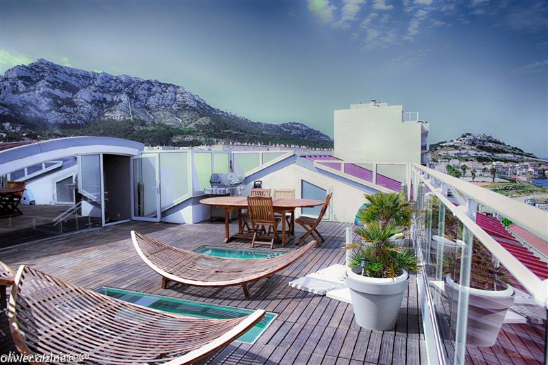Appartement avec terrasse vue mer marseille