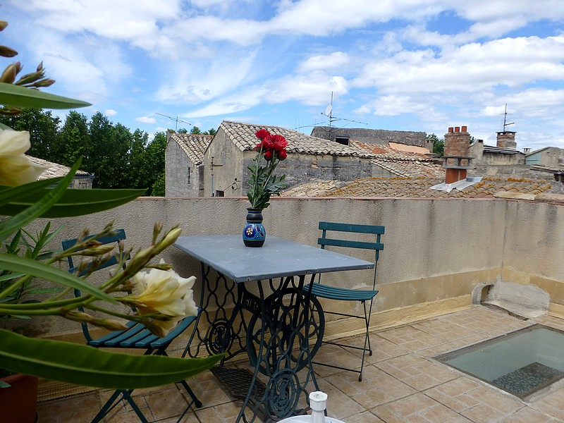 Appartement terrasse uzes