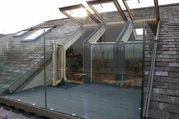 Balcon toiture terrasse