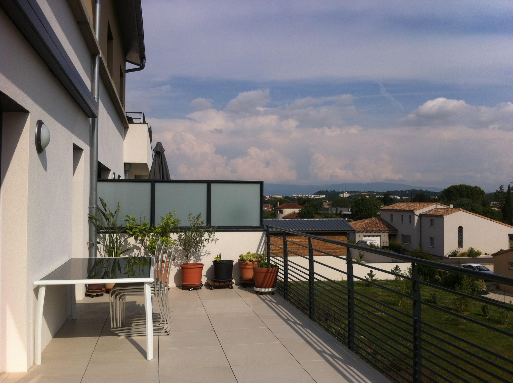 Appartement avec vue terrasse