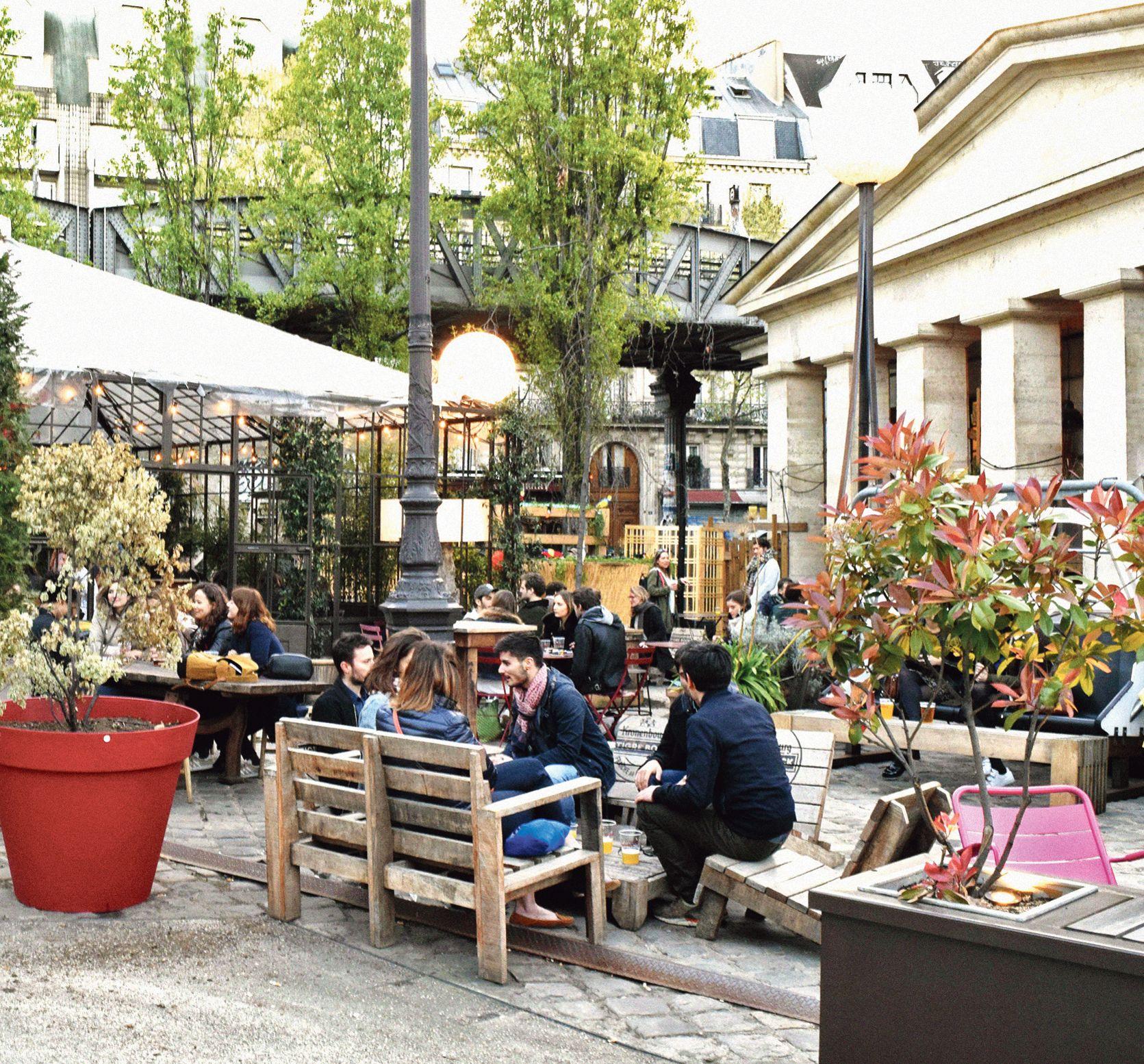 Restaurant terrasse paris xv