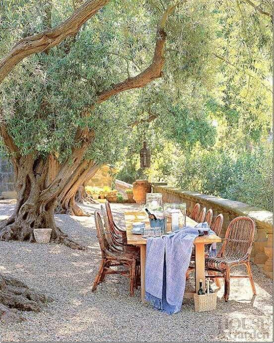 Table terrasse anglais