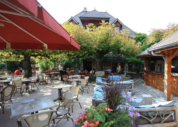 Cafe terrasse annecy