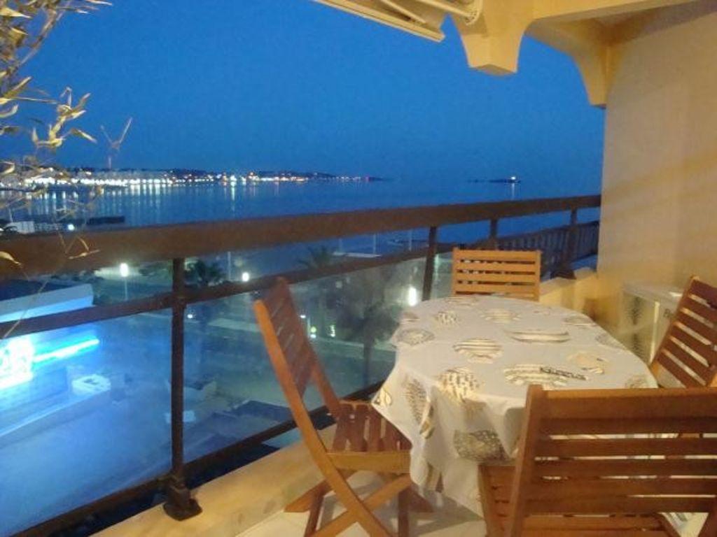 Location avec terrasse vue mer
